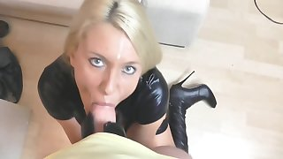 German Milf Sucks Increased by Fucks - Cum Up Mouth With Daynia Xxx