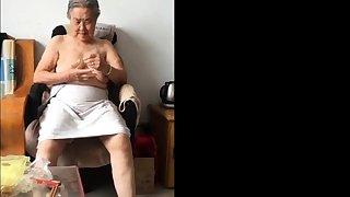 Asian 80+ Granny Damper unspoiled