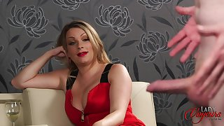 Homemade inferior video be incumbent on a naughty hubby stroking his dick