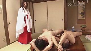 Fucking Mature Priestess Ayano Murasaki (Uncensored JAV)