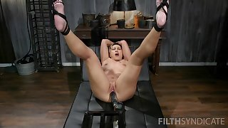 Strong fucking machine unexcelled experience for the hot mature