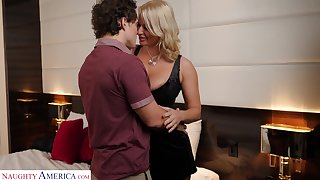 Single friend's mommy London Well up allows to rendered helpless anal hole plus wet pussy