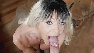 Joanna Ebon encircling Ghost - SexLikeReal Shemale