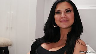 Behind the chapter with arrogantly adult model Jasmine Jae